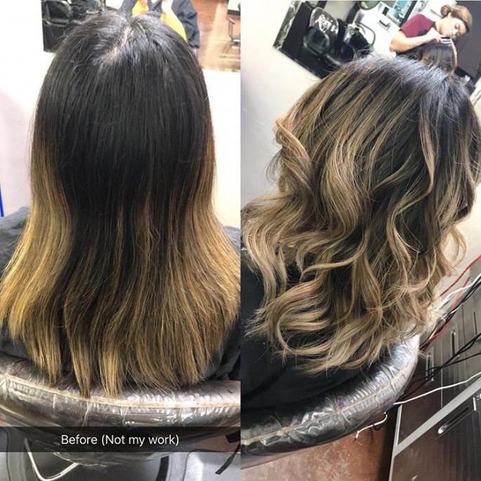 Medium Layered Haircut for Over 50s
