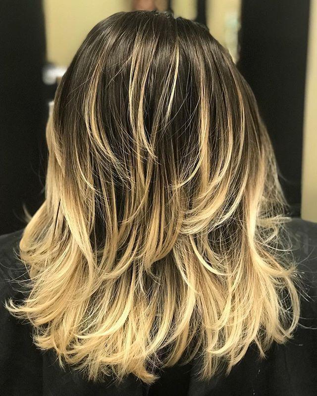 Medium Layered Haircut for Over 50s on Sensod