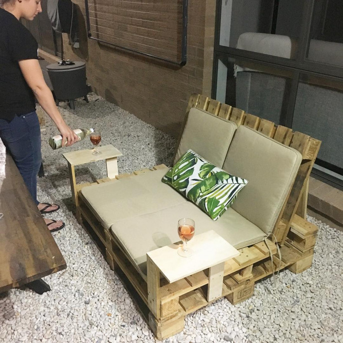 Pallet for Lounge Chair