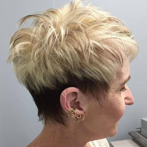 Short or very short women hairstyles ideas