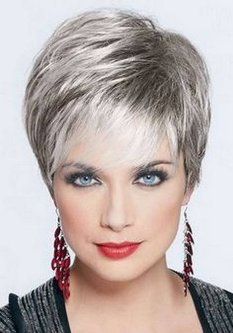 Short or very short women hairstyles over 50