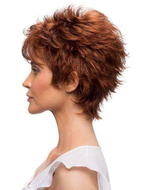Short or very short women hairstyles idea