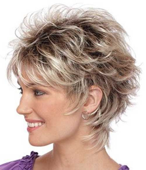 Beautiful short women hairstyles over 50