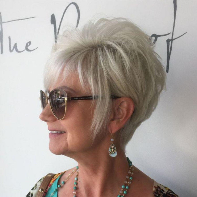 Beautiful women hairstyles over 50