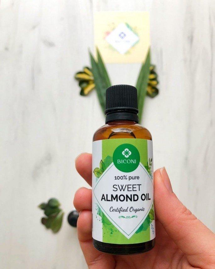 Sweet Almond Oil For Hair Loss