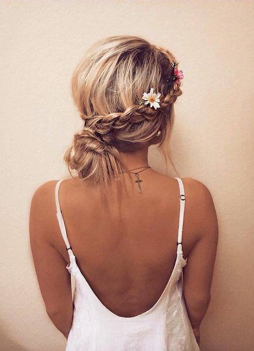 cute girls waves hairstyles for party 2018