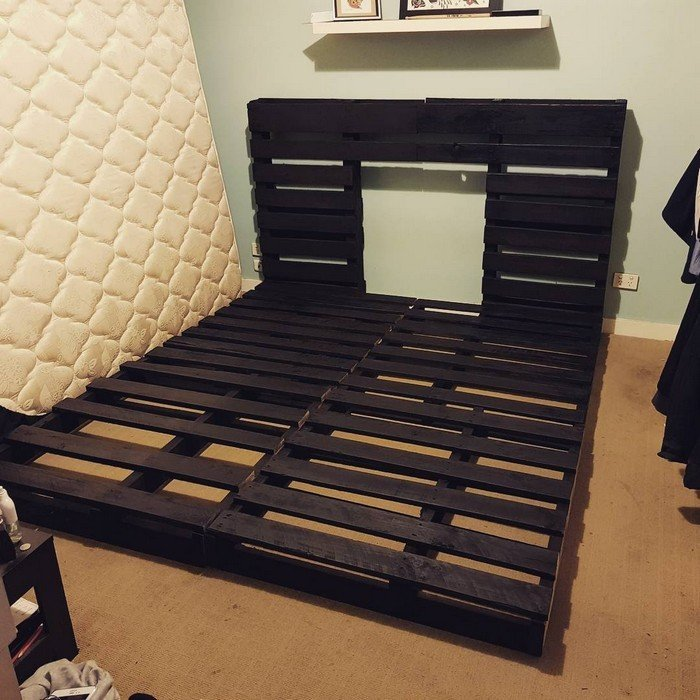 Best 20 Recycled Pallet Bed Frame And Storage Ideas Sensod