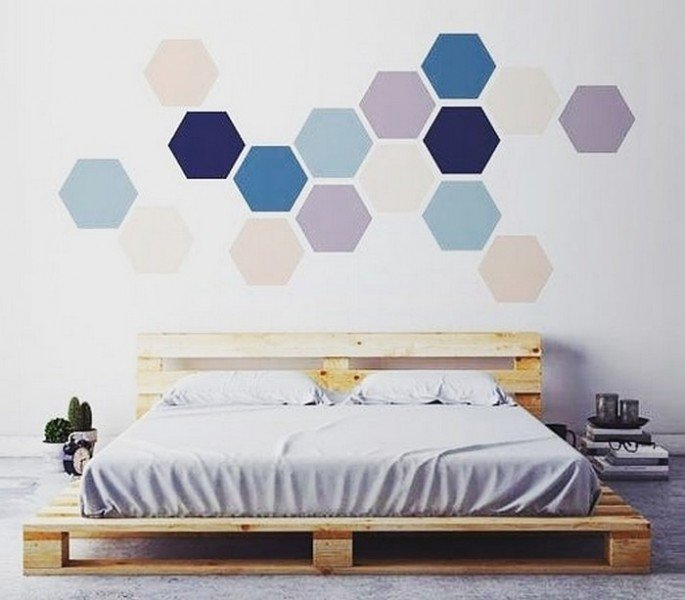 Best 20+ Recycled Pallet Side Bed Frame ideas