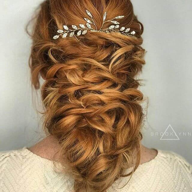 Modern Bridal Hairstyles ideas 2018