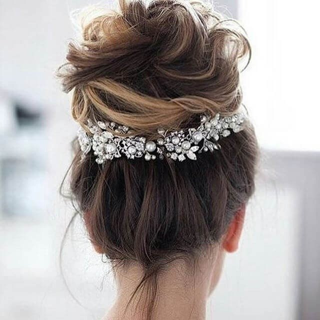 35 unique women Wedding Hairstyles Ideas