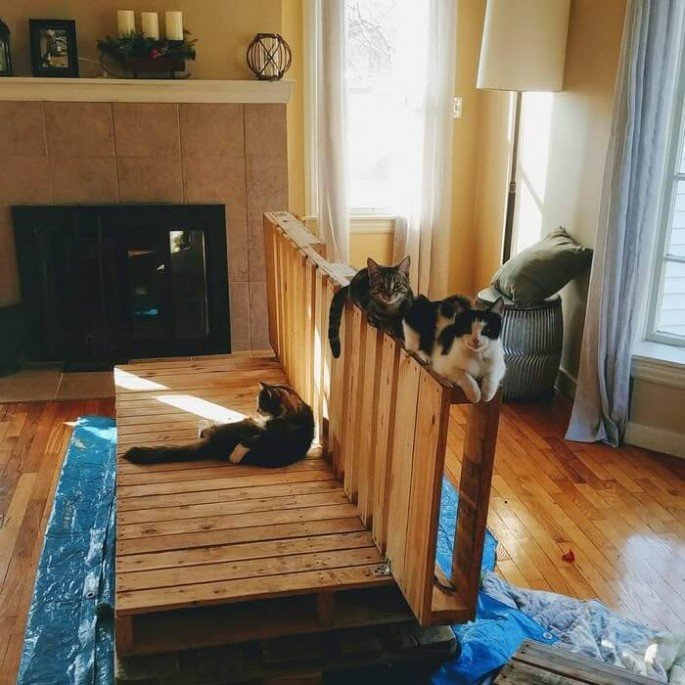 indoor pallet couch project ideas
