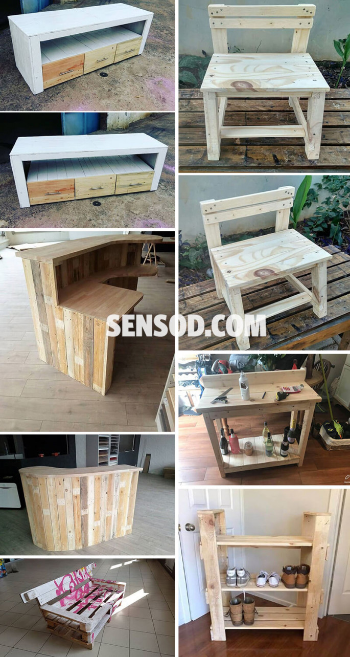 27+ Best Wooden Pallet Furniture Projects Ideas And Tutorials