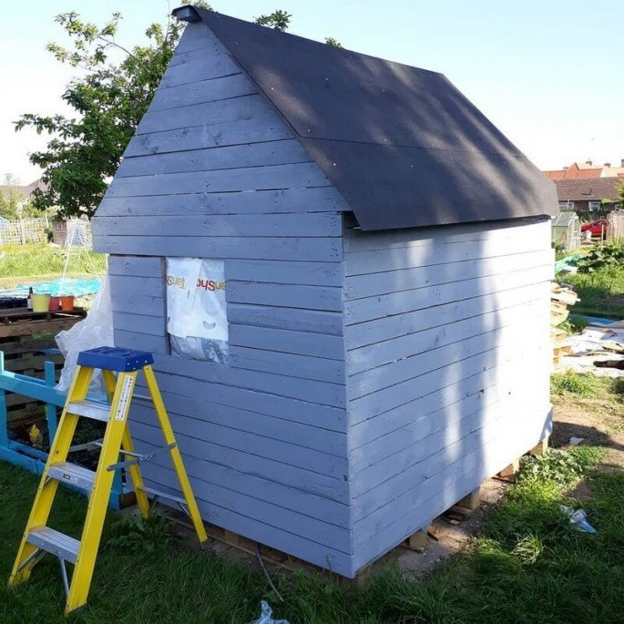 SCHOOL-HOUSE STORAGE SHED ideas