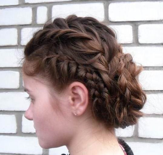 Fish tail braided hairstyles