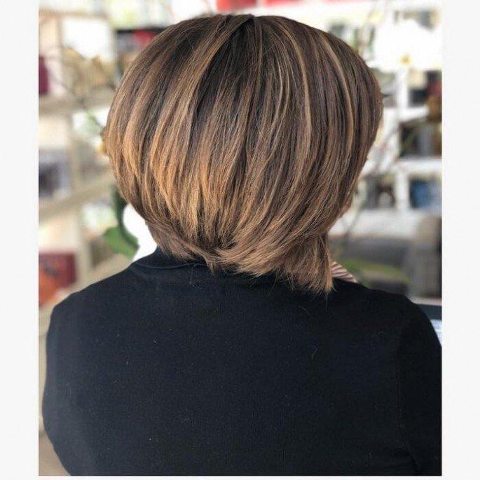 short hairstyles light brown hair 2018
