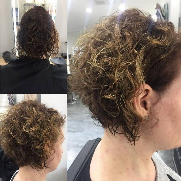 BRUSHED BACK BOB WITH CURLS TEXTURE 2018