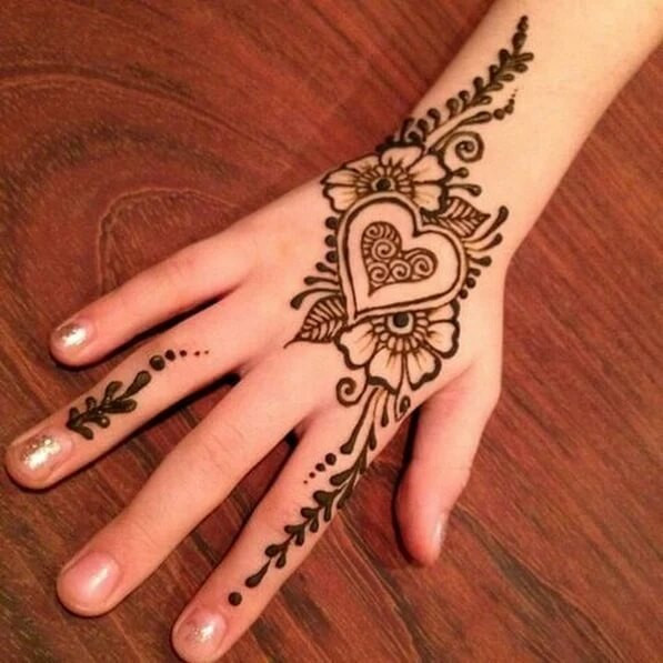 really simple backhand mehndi designs 2018