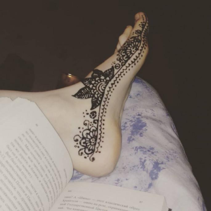 foot mehndi designs 2018