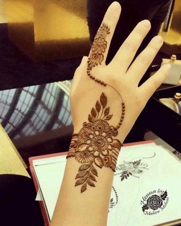 Top mehndi designs for girls