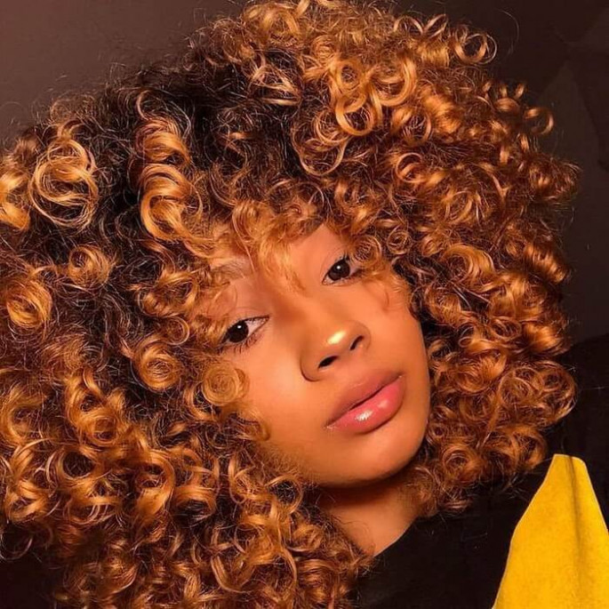 SPIRAL CURLS FOR SHORT BLACK HAIR FOR BLACK GIRLS