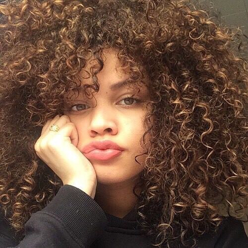 HILARIOUS AFRO-AMERICAN CURLY HAIRSTYLES