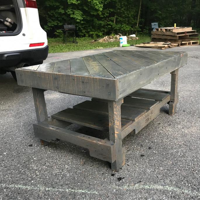 Coffee Table for Outdoor Garden
