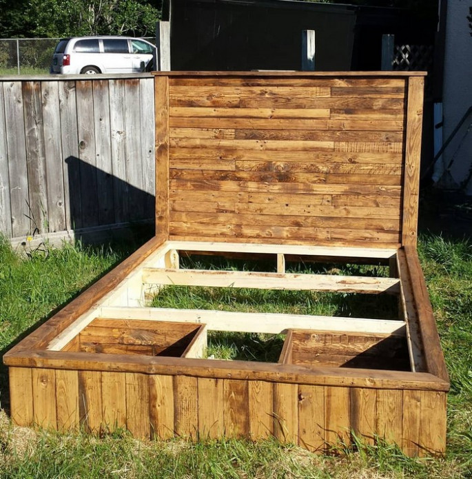 Headboards and Pallet Bed Frames