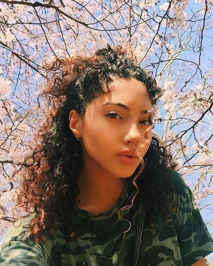 CURLY HAIR ON BLACK GIRLS ideas