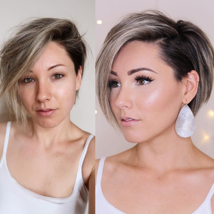 Smooth and Glossy bob hairstyles