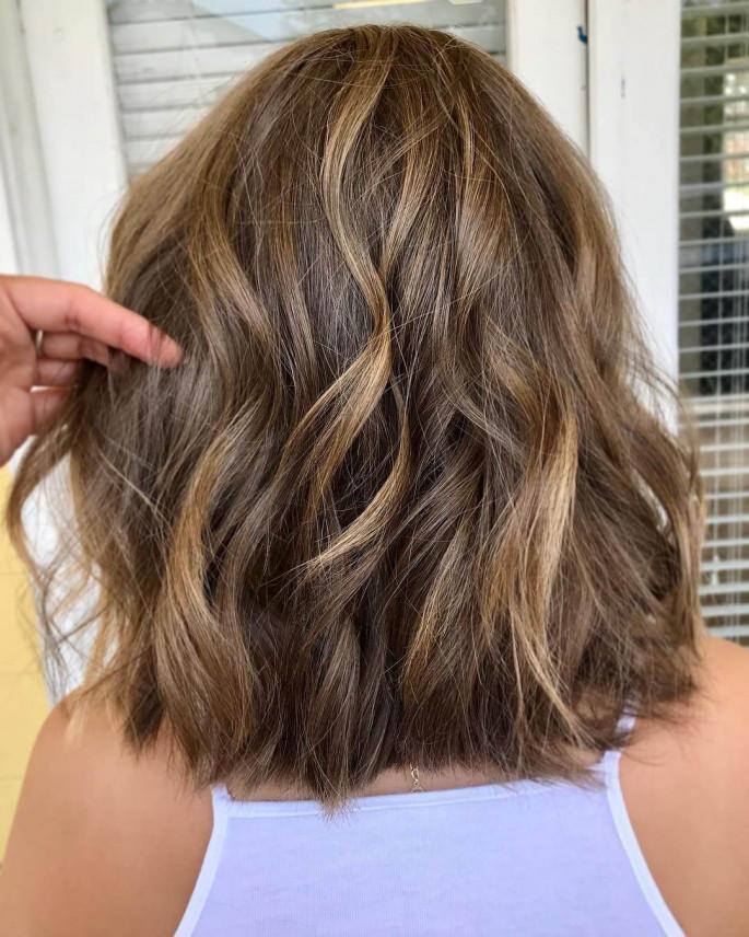 High Buns Hairstyles for Medium Hair