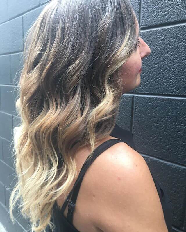 Stunning Looking Messy Bun Up-do Hairstyle for Medium Hair