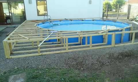 How to make Pallet Swimming Pool Step By Step