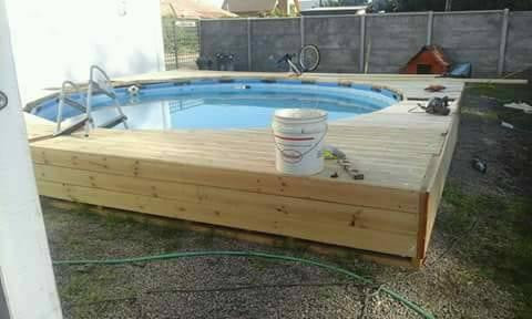 How to build a diy pallet swimming pool step by step sensod - How to build swimming pool step by step ...