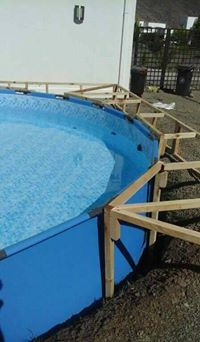 DIY Pallet Swimming Pool Step By Step