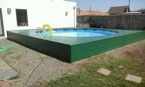 How to build a DIY Pallet Swimming Pool Step by Step