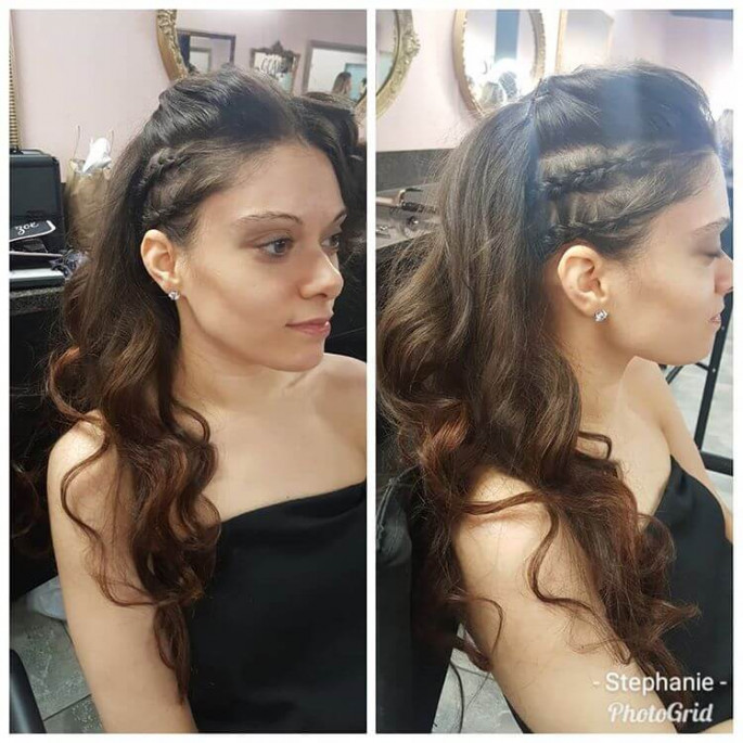 Retro Curls Homecoming Hairstyles
