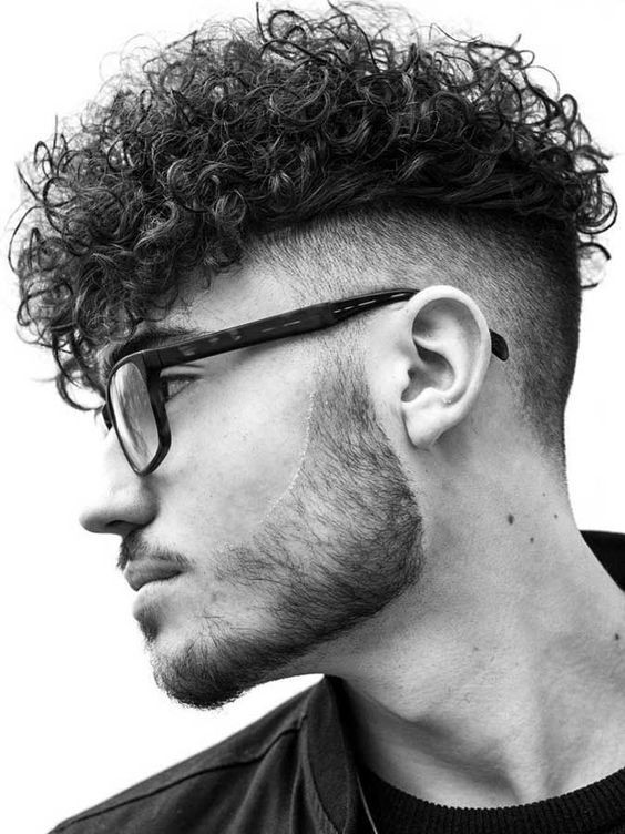 Perform Men curly Hairstyle