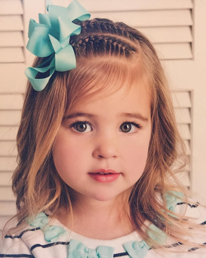 31 Incredible Adorable Little Girls Hairstyles For Your Princess Sensod