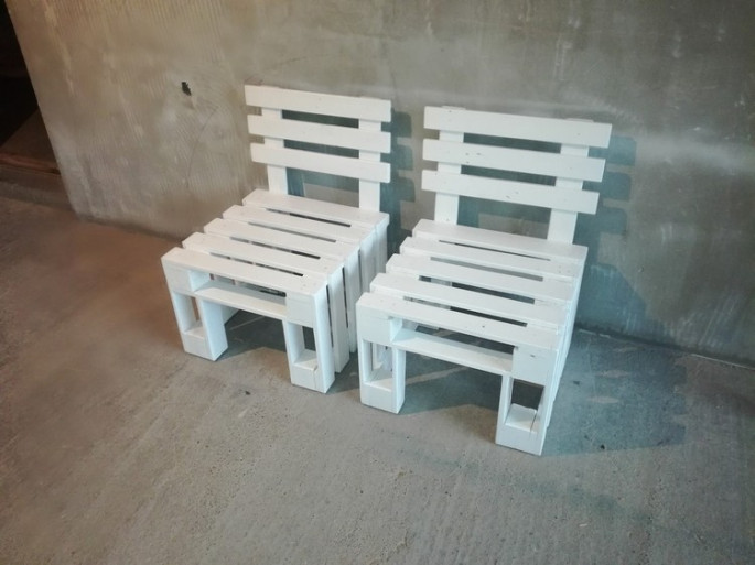 pallet chairs ideas for your outdoor