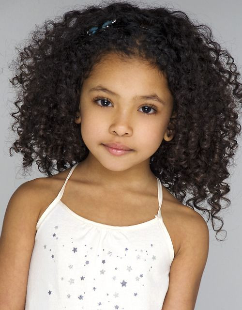 Mischievous Curls Hairstyles for Little Girls