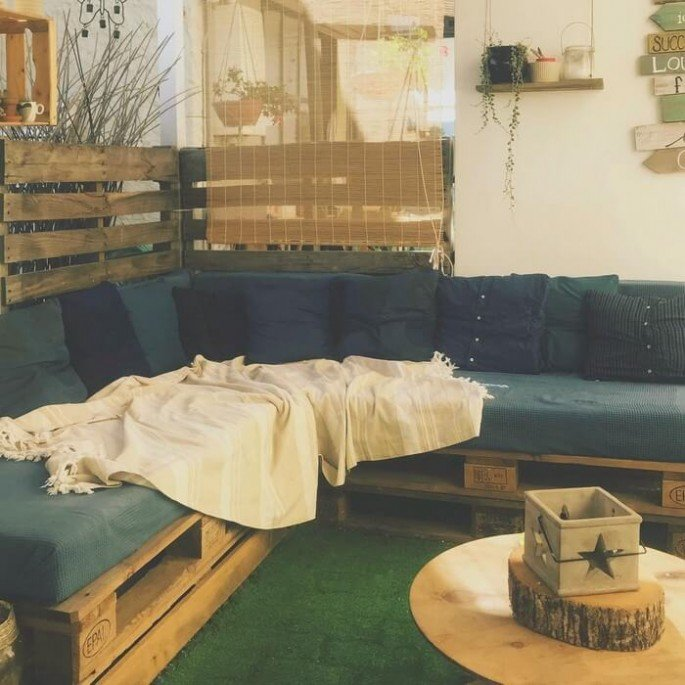 pallet couch for sale