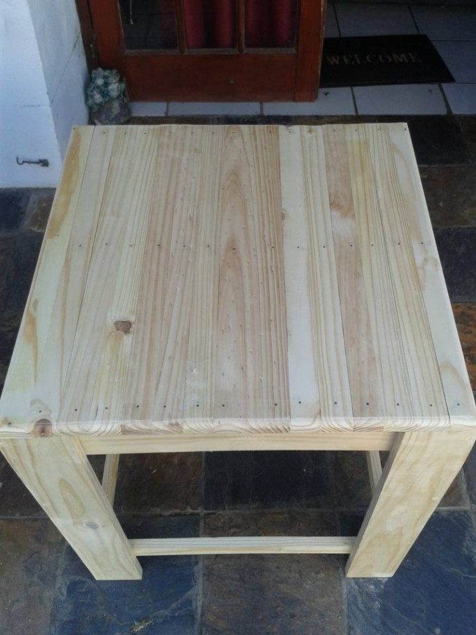 Pallet Bench and Desk