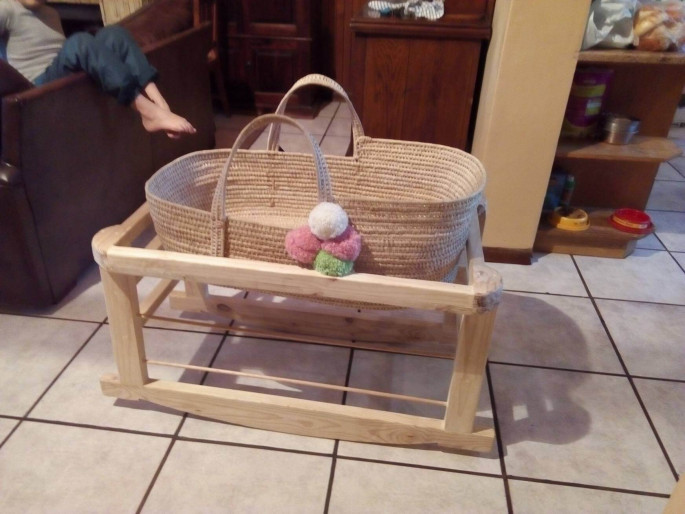 Wooden Baskets Holder Set DIY Pallet Ideas