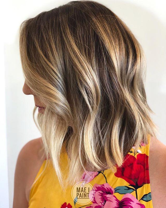 Center Braided Hairstyle