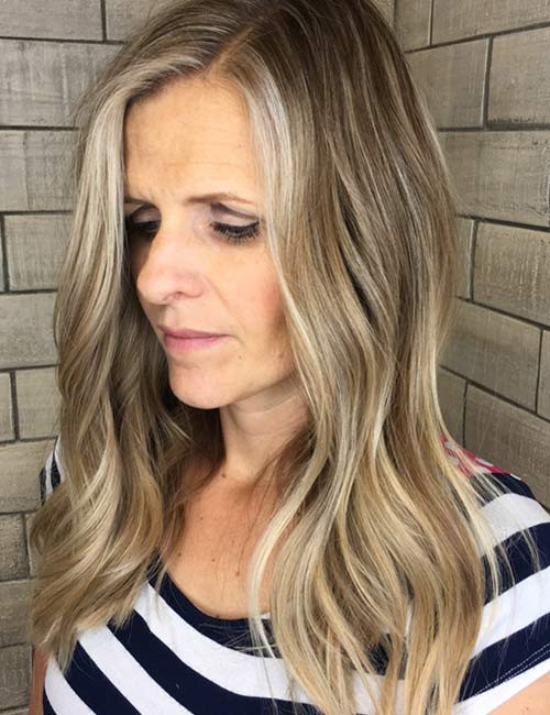 Long Waves Hairstyles for Older Women 2019 You Will Amaze