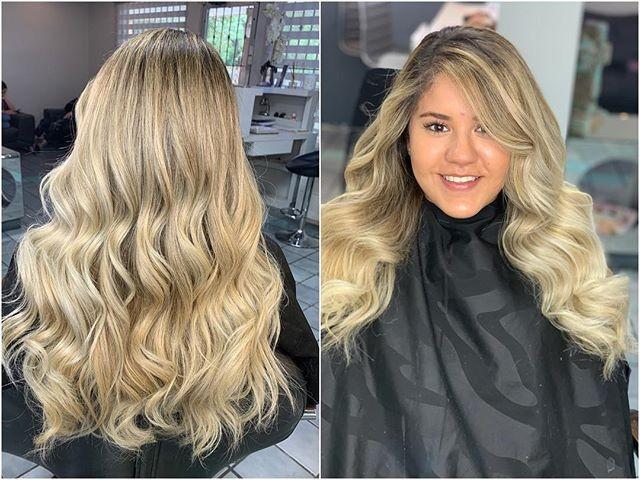 Girls wavy hairstyles