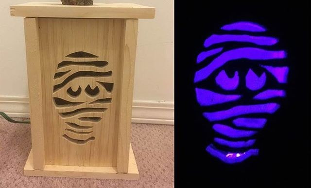pallet glowing crafts