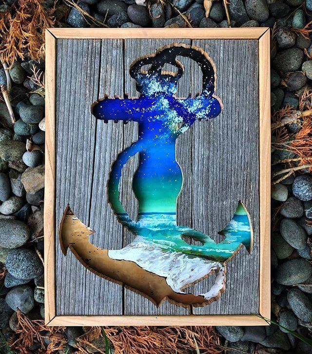 Pallet anchor art