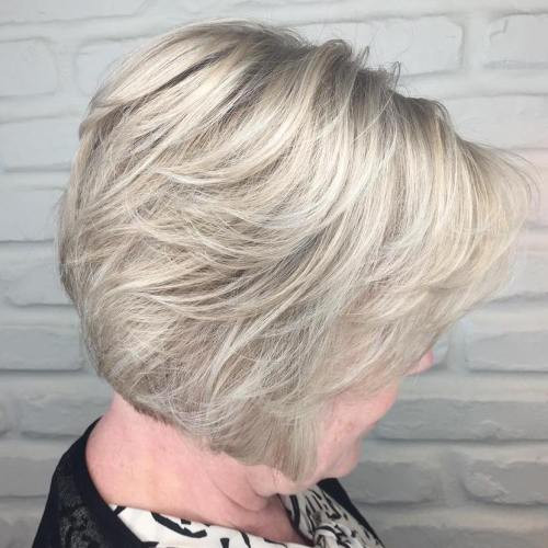 33+ Classy & Simple Short Hairstyles for Older Women - Sensod ...