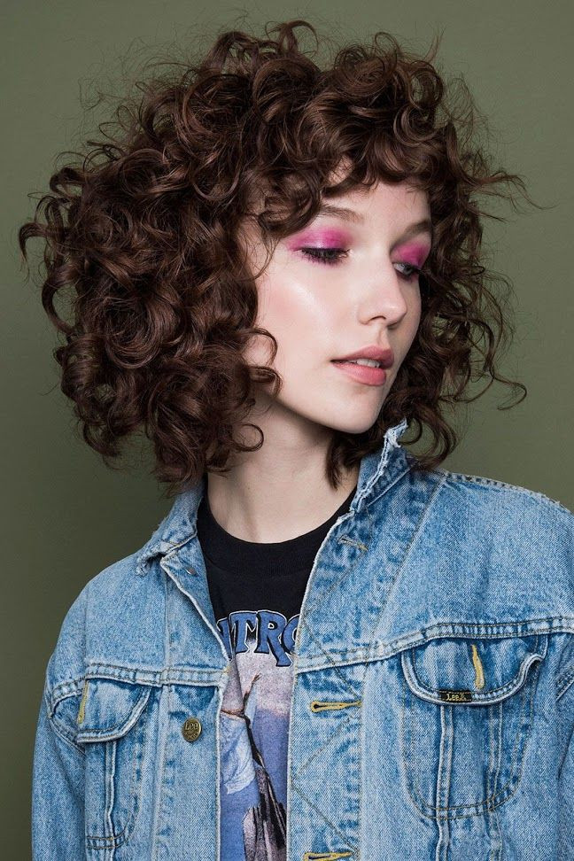 Modern Shag Hairstyles For Curly Hair